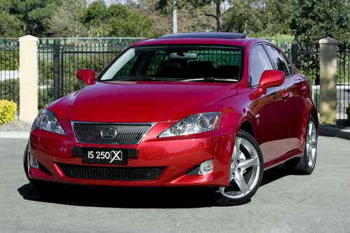 Lexus Is. The Lexus IS 250 X special