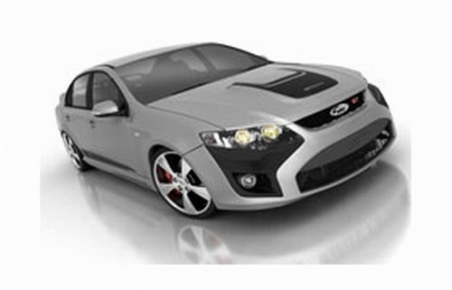 The new 2008 FPV GT sedan, F6 sedan and Super Pursuit Ute has officially