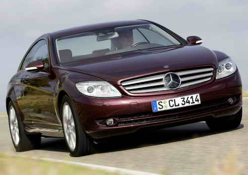 Mercedes CL500 4MATIC Car