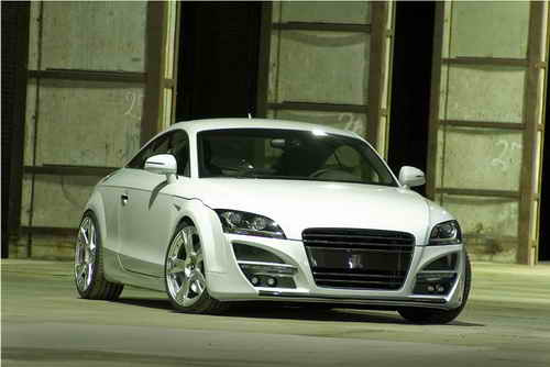 The Pogea Husttler Audi TT is called WHITE ANGEL and the cabrio version is