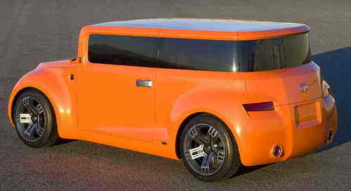 Scion Hako Coupe Car