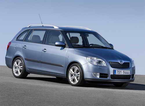 2007 Skoda Fabia. Skoda Fabia Estate () Launched