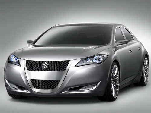 Suzuki has unveiled the Suzuki Kizashi 3 Concept as their latest concept at