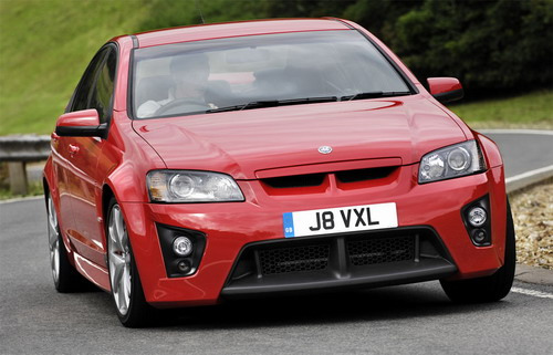 Vauxhall VXR8 LS3 with V8 engine