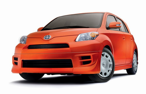 2008 Scion Xd. Although the 2008 Scion xD RS