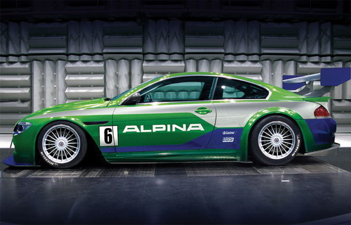 With the BMW Alpina B6 GT3 racing car, ALPINA has announced of its return to