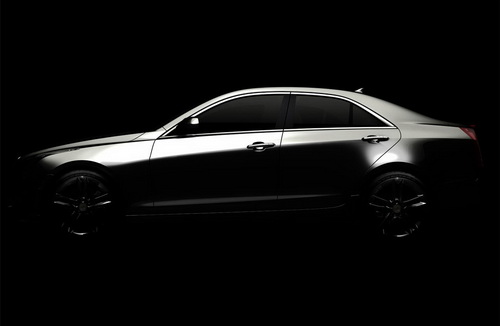 Cadillac ATS teaser - A New Compact Luxury Sedan