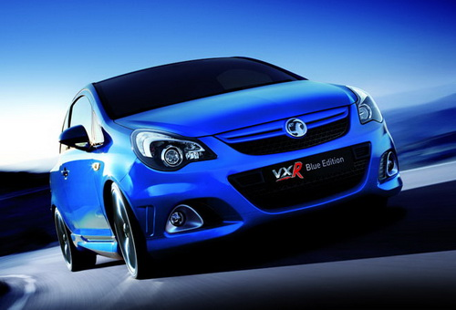 Vauxhall Corsa VXR Blue special edition