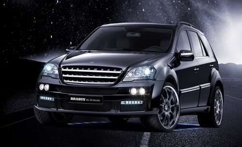 BRABUS Mercedes ML63 biturbo