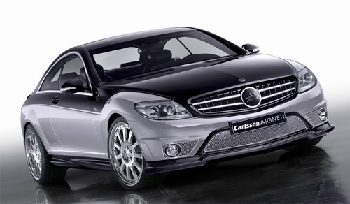 Mercedes CL Carlsson Aigner CK65 RS Eau Rouge Dark Edition