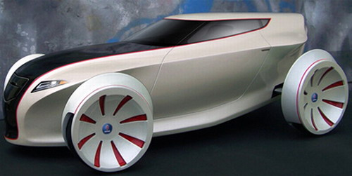 Saab Blackbird Concept Car