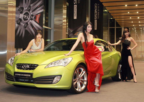 Hyundai Genesis Coupe on Korean Market