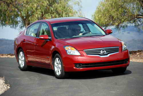 2009 Nissan Altima Hybrid Car