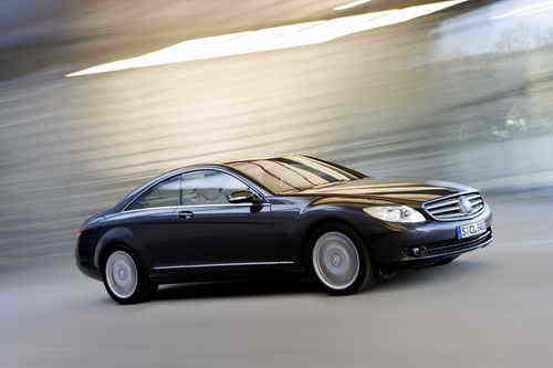2009 Mercedes CL550 with 4MATIC