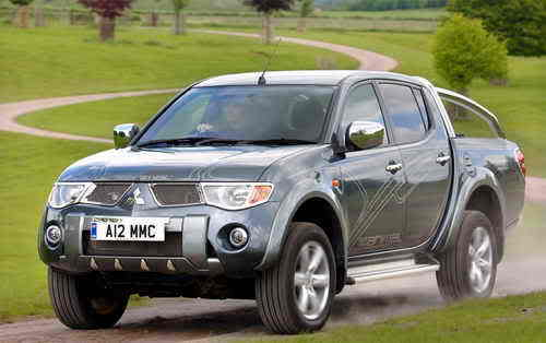 2008 Mitsubishi L200 Updated in UK