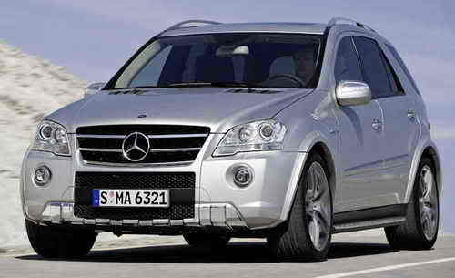 2009 Mercedes ML 63 AMG Car