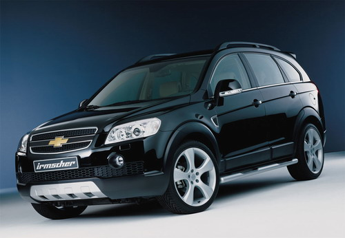 The Chevrolet Captiva also has its upgrade kit from Irmscher.